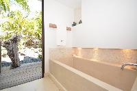 fabulous bathroom in Saint Barth Luxury Villa Amancaya Estate vacation rental
