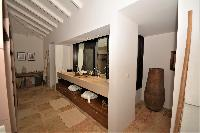 nice interiors of Saint Barth Luxury Villa Amancaya Estate vacation rental