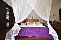 clean bed sheets in Saint Barth Luxury Villa Amancaya Estate vacation rental
