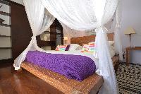 fresh bed sheets in Saint Barth Luxury Villa Amancaya Estate vacation rental