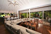 cool living room of Saint Barth Luxury Villa Amancaya Estate vacation rental
