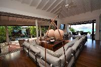 cool sitting area in Saint Barth Luxury Villa Amancaya Estate vacation rental