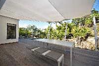 cool cabana of Saint Barth Luxury Villa Amancaya Estate vacation rental