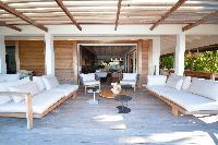 cool lanai of Saint Barth Luxury Villa Amancaya Estate vacation rental