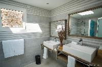 clean lavatory in Saint Barth Villa Cacao luxury home, vacation rental
