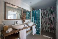 clean bathroom in Saint Barth Villa Cacao luxury home, vacation rental