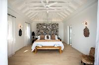 clean bedroom linens in Saint Barth Villa Cacao luxury home, vacation rental