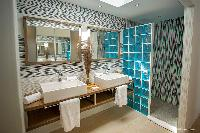 spic-and-span bathroom in Saint Barth Villa Cacao luxury home, vacation rental