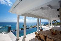cool veranda of Saint Barth Villa Cacao luxury home, vacation rental