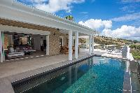 cool lanai of Saint Barth Villa Cacao luxury home, vacation rental