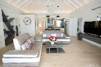 cool living room in Saint Barth Villa Cacao luxury home, vacation rental