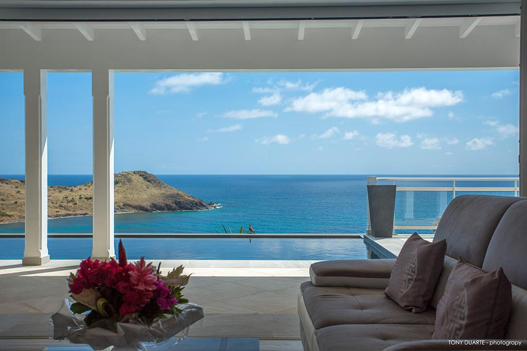cool seaside Saint Barth Villa Cacao luxury home, vacation rental