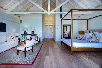 pleasant bedroom in Saint Barth Villa Aqua luxury holiday home, vacation rental