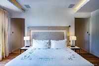clean bed sheets in Saint Barth Villa Aqua luxury holiday home, vacation rental