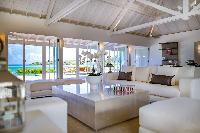 spacious Saint Barth Villa Aqua luxury holiday home, vacation rental