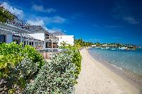 perfect beachfront Saint Barth Villa Aqua luxury holiday home, vacation rental