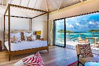 breezy and bright and breezy Saint Barth Villa Bleu luxury holiday home, vacation rental