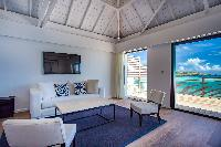 fully furnished Saint Barth Villa Bleu luxury holiday home, vacation rental