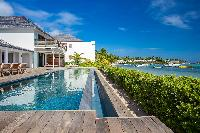 gorgeous seaside Saint Barth Villa Bleu luxury holiday home, vacation rental
