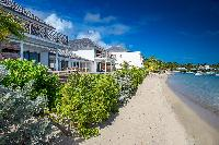 magnificent beachfront Saint Barth Villa Bleu luxury holiday home, vacation rental