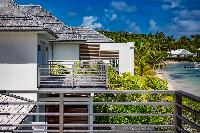 marvelous beachfront Saint Barth Villa Bleu luxury holiday home, vacation rental