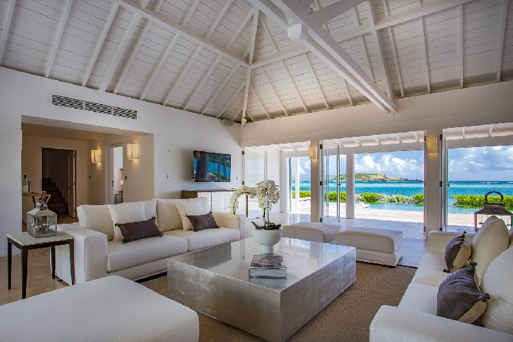 awesome Saint Barth Villa Bleu luxury holiday home, vacation rental