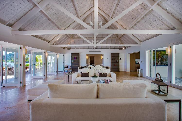 amazing Saint Barth Villa Bleu luxury holiday home, vacation rental