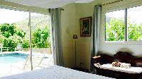 cool interiors of Saint Barth Villa Petit Paradis luxury holiday home, vacation rental