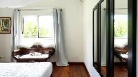 crisp bedroom linens in Saint Barth Villa Petit Paradis luxury holiday home, vacation rental