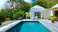 cool swimming pool of Saint Barth Villa Petit Paradis luxury holiday home, vacation rental