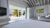 clean bed sheets in Saint Barth Villa Prestige holiday home, luxury vacation rental