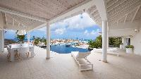 awesome sea view from Saint Barth Villa Prestige holiday home, luxury vacation rental