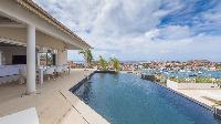 cool poolside of Saint Barth Villa Prestige holiday home, luxury vacation rental