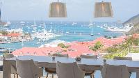 amazing sea view from Saint Barth Villa Prestige holiday home, luxury vacation rental