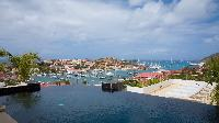 cool infinity pool of Saint Barth Villa Prestige holiday home, luxury vacation rental