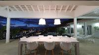 cool balcony of Saint Barth Villa Prestige holiday home, luxury vacation rental