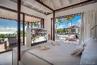 breezy and bright Saint Barth Luxury Villa Blanc Bleu holiday home, vacation rental