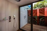 cool shower in Saint Barth Luxury Villa Blanc Bleu holiday home, vacation rental
