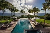 impeccable Saint Barth Luxury Villa Blanc Bleu holiday home, vacation rental
