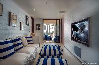 well-appointed Saint Barth Luxury Villa Blanc Bleu holiday home, vacation rental