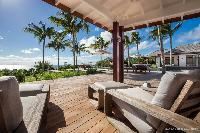 coolsun loungers a Saint Barth Luxury Villa Blanc Bleu holiday home, vacation rental