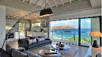 sunny and airy Saint Barth Luxury Villa Eranos holiday home, vacation rental