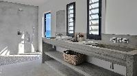 cool shower area in Saint Barth Luxury Villa Eranos holiday home, vacation rental