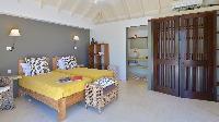 fresh bed sheets in Saint Barth Villa Jali luxury holiday home, vacation rental