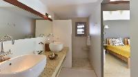 clean bathroom in Saint Barth Villa Jali luxury holiday home, vacation rental