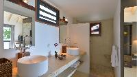 clean lavatory in Saint Barth Villa Jali luxury holiday home, vacation rental