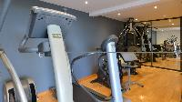 cool gym of Saint Barth Villa Jali luxury holiday home, vacation rental