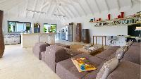 delightful sitting room in Saint Barth Villa Jali luxury holiday home, vacation rental