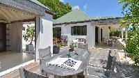 cool patio of Saint Barth Villa Jali luxury holiday home, vacation rental