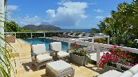 cool balcony of Saint Barth Villa Jali luxury holiday home, vacation rental